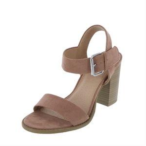 Brash Women's Storm Block Heel Sandal Mauve Size 7